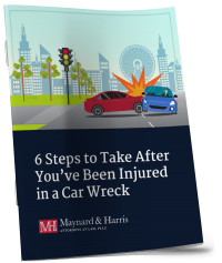 6 steps after you've been in a car wreck