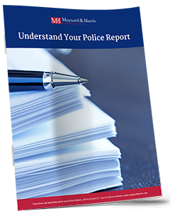 Guide to understanding your accident report from the police