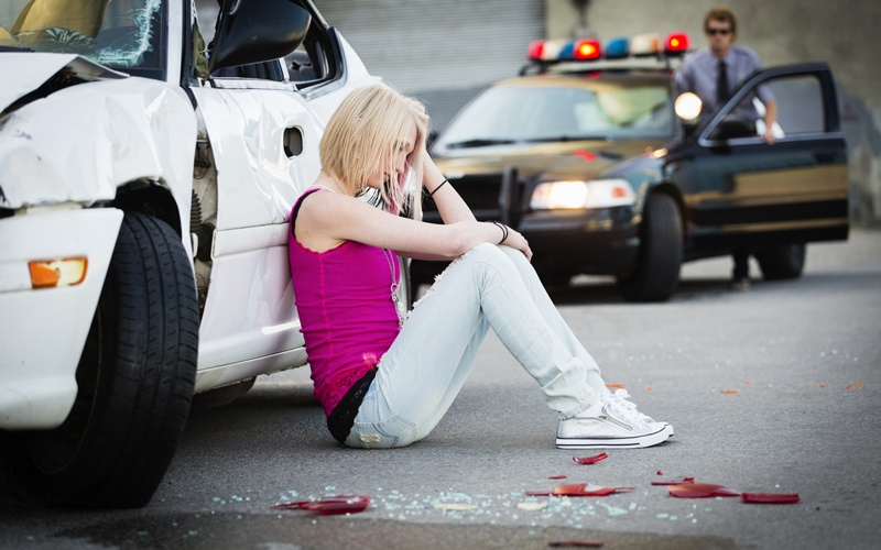 Pictures of teen car accidents
